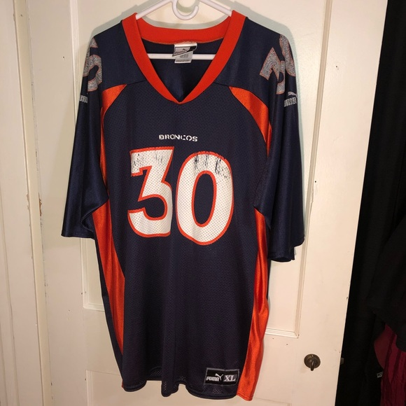 sale retailer 274ce 98d60 Terrell Davis #30 Denver Broncos Jersey